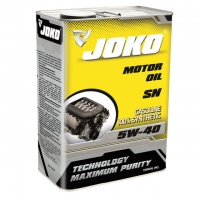 Моторное масло JOKO GASOLINE 100% Synthetic SN/CF 5w-40 4л