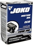 Моторное масло JOKO GASOLINE ECO Semi-synthetic SJ/CF 10w-40 4л
